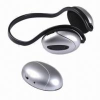 Buy cheap Wireless Earphones/Headphones, Receiving Sound from TV/PC/iPod and FM Radio, 2 from wholesalers