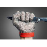 SS304 Stainless Steel Mesh Gloves , Stainless Steel Ring Mesh For Kitchen Manufactures