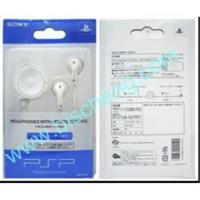 China PSP2000 earphone with remote control on sale