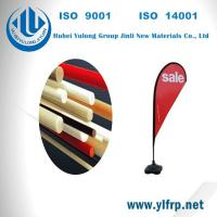 Pultrusion Fiber Glass Polyester Plastic Tent Pole, Beach Camping Pole, Flag Pole Manufactures