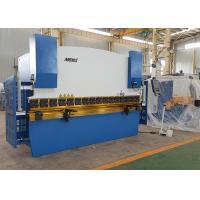 High Precision 4 Foot Press Brake Metal Brake Machine For Plate 320mm Throat Depth Manufactures