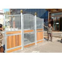 Quality Out Door Hot Dip Galvanized Horse Stable Stall Fence Panel With Board for sale