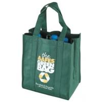 eco friendly personalized Non Woven reusable grocery shopping bags durable Manufactures