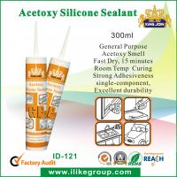 General Purpose Acetoxy Silicone Sealant For Industrial With Acid Curing