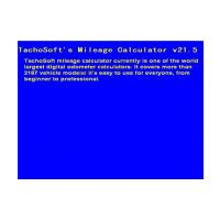 Quality Tachosoft Mileage Calculator V21.5 Automotive Diagnostic Software , Digital Odometer Calculators for sale