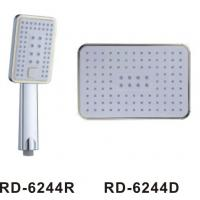 Button Bathroom Shower Head Set Custom Color Easy Operation 290*190mm Brass Ball Manufactures