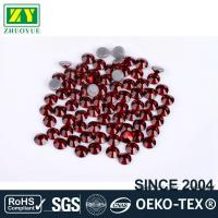 Tiny Flat Hotfix Glass Rhinestones High Color Accuracy With Even Facets Manufactures