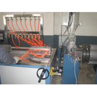 Co-extruder Plastic Extrusion Line , PVC Skirting profile extrusion machine Manufactures
