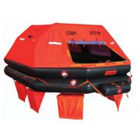 China Life-Saving Unit SOLAS Inflatable Marine Life Rafts For Vessel Sailing on sale
