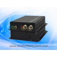 1port 3G/HD SDI to fiber optical converter with 1ch reverse RS485 for CCTV and broadcast system Manufactures