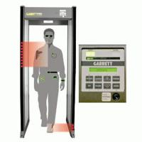 Quality Hotel Shakeproof Door Frame Metal Detector With Light And Sound Alarm for sale