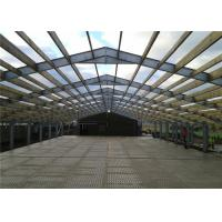 Steel Frame Prefabricated Industrial Buildings , Metal Workshop Building Durable Manufactures