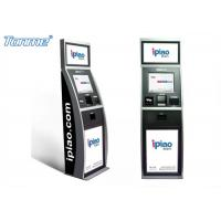 Customized Functional Payment Terminal Touch Screen Lobby Kiosk For Water / Gas Bills Manufactures