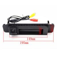 China Waterproof Benz Rear View Camera System 6.5M Cable Length 4 Pin Connector on sale