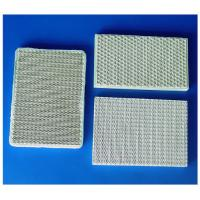 Quality Anti-corrosion Cube Cordierite Honeycomb Ceramic Plate With Good Thermal Shock Stability for sale