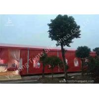 Popular Red Color 20m Width Luxury Wedding Party Tent Marquee with Top and Wall Curtains Manufactures