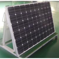 Medium Size 265w Mono Crystal Solar Panel Black Frames Weathering Resistance TPT Manufactures