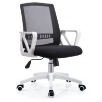 Classic Ergonomic Mesh Back Office Chair , Mesh Swivel Office Chair PP Foot Manufactures