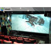 4D Home Theater Cinema System Theater Chairs With Software Hardware Manufactures