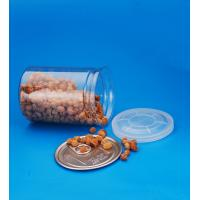 Cylinder Clear Plastic Storage Containers With Lids Small Capacity 28G Manufactures