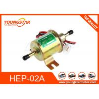 China Low Pressure Electric Fuel Pump OEM HEP-02A HEP02A 12V Copper Material on sale