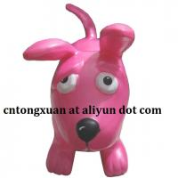 Plastic Material Puppy Type Inflatable Hopper Animals Manufactures