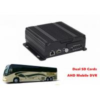 Live View Video Dual SD Card Mobile DVR 4G GPS WIFI 4CH AHD 720P Recording Manufactures