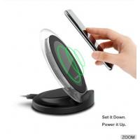 QI Wireless Charging Stand / 2 Coils Wireless Fast Charger For Samsung S6 , LG ,