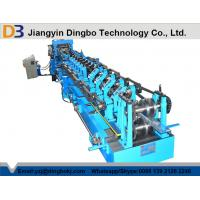 Warranty 2 Years Z Channel Steel Roll Forming Machine With Chains Transmission Manufactures