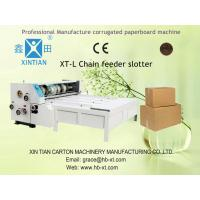 Chain Feeding Paper Roll Slitting Machine For Cardboard Creasing Manufactures