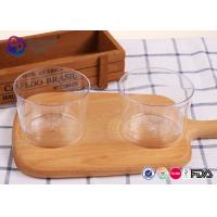 China Disposable Plastic PS Large Clear Plastic Salad Bowls 250Ml Round Shape on sale