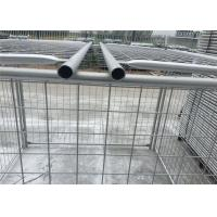 China Environmental Q235 Steel Weld / Chain Wire Trash Cage 1500mm X 2000mm on sale