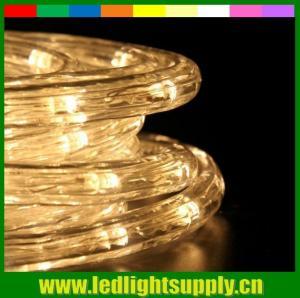 China led strip light 13mm round christmas led rope light for decoration on sale