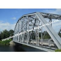 Multi Span Single Lane Steel Box Girder Bailey Bridges Structural Formwork Truss Construction Manufactures