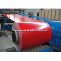 color coated Aluminium Coil used for roofing , thickness 0.1-2.5mm Manufactures