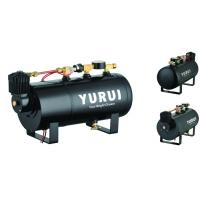 Various Functions 2 In 1 Portable Compressed Air Tank For Inflation And Car Horns Manufactures