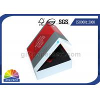 Full Color Printing Rigid Paper Gift Box Paper Presentation Box With Insert Foam Manufactures