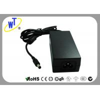 36V 1250mA Desktop DC Power Supply Adapter for Security Cameras / 3 Pins Manufactures