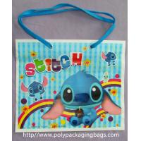 Poly Drawstring Bags / One Shoulder Backpack Custom Children'S Cartoon Picture Manufactures