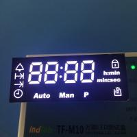 Ultra  white Customized oven led display  with 120 degree operating temperature Manufactures