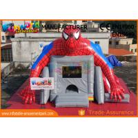 Buy cheap Superhero Combo Spider - man Commercial Bouncy Castles / Inflatable Bounce House from wholesalers