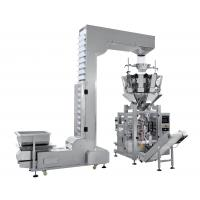 Popcorn Integrated Packing Machine , Snack Food Packaging Equipment Multiple Heads Weigher Manufactures