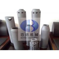 5 Thickness Silicon Carbide Parts SiSiC Burner Cones For Kiln Flame Tubes Manufactures