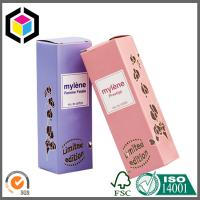 Metallic Paper Material Color Print Packaging Box; Perfume Paper Packing Box Manufactures