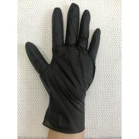 Durable Non Sterile Disposable Nitrile Gloves Powder Free 240mm Length Manufactures