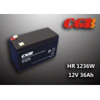 12V 7ah HR1236W Charge Ups Battery , Agm Longest Lasting Deep Cycle Battery Manufactures