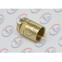 Brass Female Union Nipple High Precision Machining Parts With Pickling Surface Manufactures