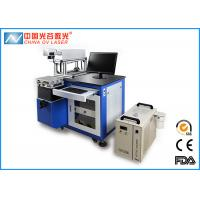 China Glass Cup Mini Laser Marking Machine / Rubber Engraving Machine OV LM-20 on sale