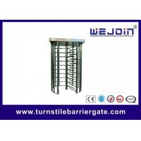 Digital Double Direction Full Height Turnstile / Automatic Systems Turnstiles Manufactures