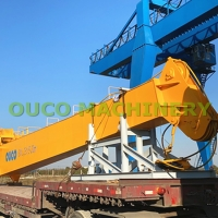 25t 20m Cargo CE Marine Cranes With Straight Boom Manufactures